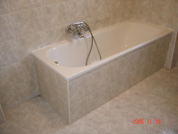 Sostituzione vasca da bagno in acciaio milano - Lunghezza vasca da bagno ...