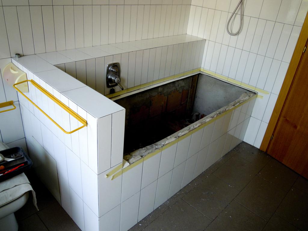 Vasca da bagno senza piastrelle sostituzione vasca da bagno senza
