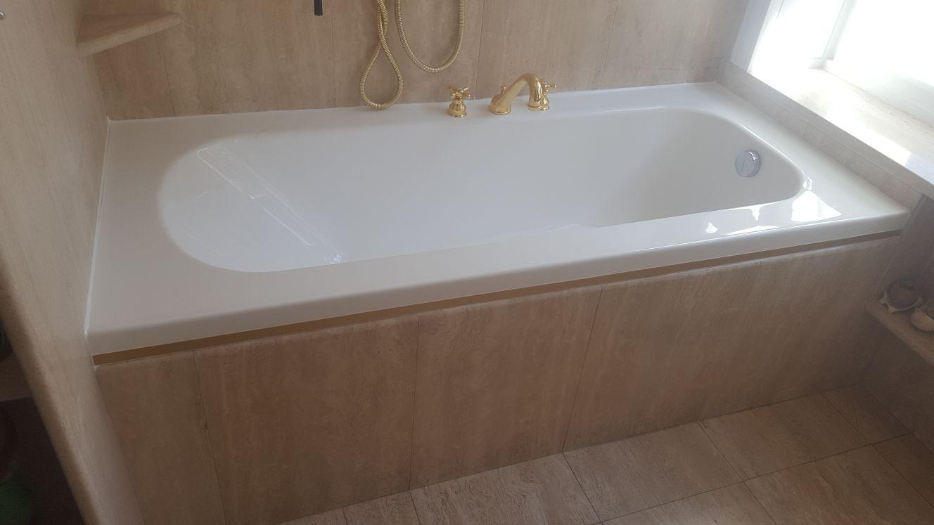 Ricoprire Vasca Da Bagno Prezzi sostituzione vasca da bagno in acrilico milano